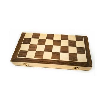 LPG Wooden Folding Chess/Checkers/Backgammon Set 40cm