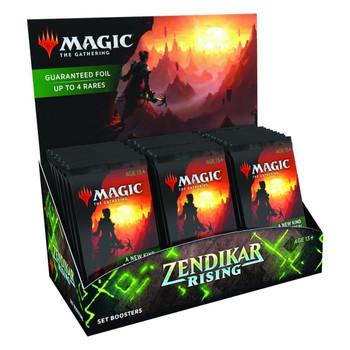 MTG Zendikar Rising Set Booster Pack
