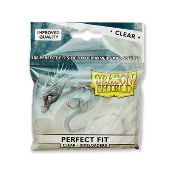 Sleeves - Dragon Shield - Perfect Fit SIDELOADER 100/pack Clear
