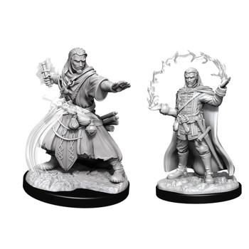 D&D Nolzurs Marvelous Unpainted Miniatures Male Human Wizard