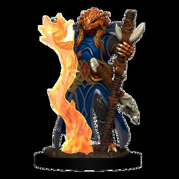 D&D Premium Painted Figures Dragonborn Sorcerer Female