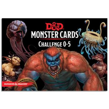D&D Spellbook Cards Monster Challenge Deck 0-5 (179 cards)