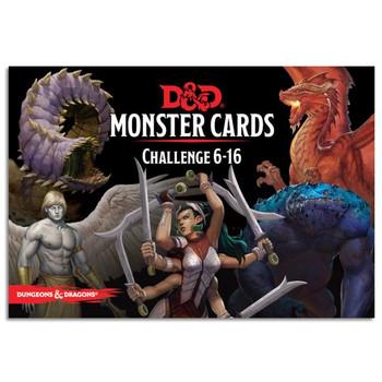 D&D Spellbook Cards Monster Challenge Deck 6-16 (74 cards)