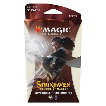Magic Strixhaven: School of Mages Theme Booster (Silverquill)