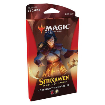 Magic Strixhaven: School of Mages Theme Booster (lorehold)