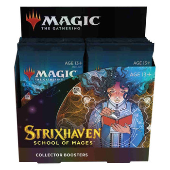 Magic Strixhaven: School of Mages Collector Booster Box