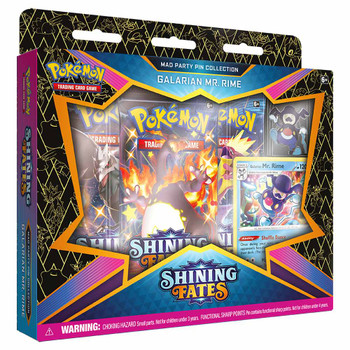 Pokemon Pin Collection - Shining Fates Mad Party (Galarian Mr. Rime)