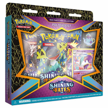 Pokemon Pin Collection - Shining Fates Mad Party (Polteageist)