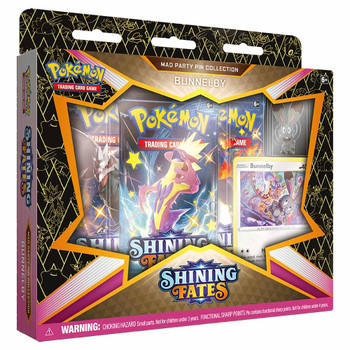 Pokemon Pin Collection - Shining Fates Mad Party (Bunnelby)