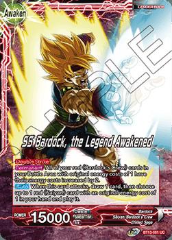 BT13-001UC Bardock // SS Bardock, the Legend Awakened Foil