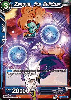 BT13-050C Zangya, the Evildoer Foil