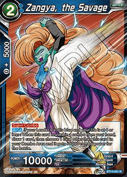 BT13-051R Zangya, the Savage Foil