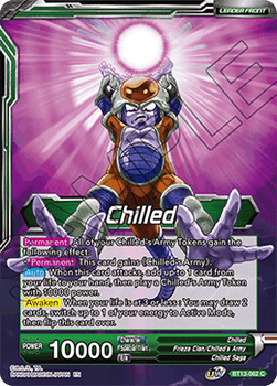 BT13-062C Chilled // Chilled, the Pillager Foil