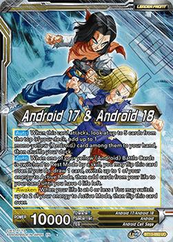 BT13-092UC Android 17 & Android 18 // Android 17 & Android 18, Harbingers of Calamity Foil