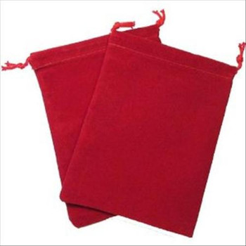 CHX 2374 Suedecloth Bag (S) - Red