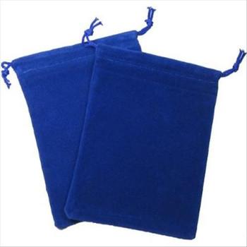 CHX 2376 Suedecloth Bag (S) - Royal Blue