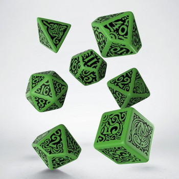 Q Workshop Call of Cthulhu The Outer Gods Cthulhu Dice Set 7