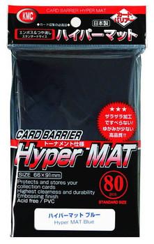 KMC Hyper MAT Blue Sleeve(80pk)
