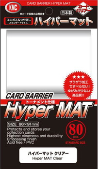 KMC Hyper MAT Clear Sleeve(80pk)