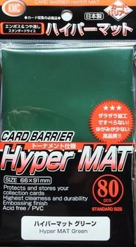 KMC Hyper MAT Green Sleeve(80pk)