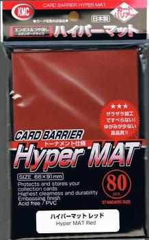 KMC Hyper MAT Red Sleeve (80pk)