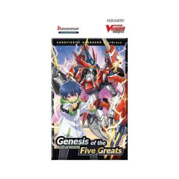 [Vanguard] D-BT01 Genesis of the Five Greats Booster Pack