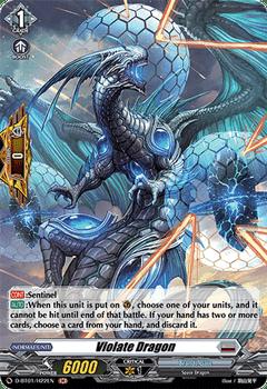 D-BT01/H22EN H Violate Dragon (Holo)
