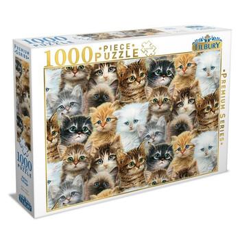 Tilbury Kitten Collage Puzzle 1000pc