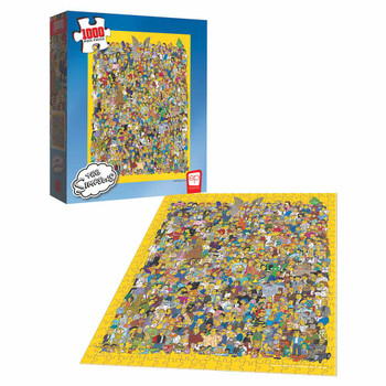 The Simpsons Casting Call 1000-Piece Puzzle