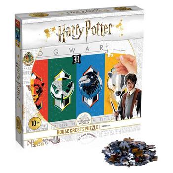 Harry Potter House Crest Puzzle 500 Piece