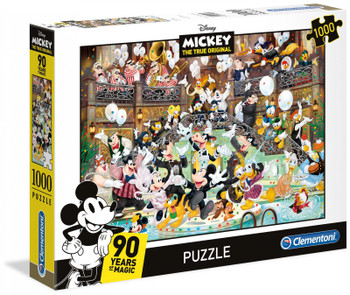 Clementoni Puzzle Disney Mickey Mouse 90 Years of Magic Puzzle 1,000 pieces