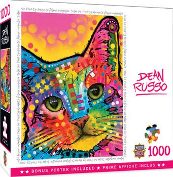 Masterpieces Puzzle Dean Russo So Puuurty Puzzle 1,000 pieces