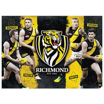 AFL Puzzle Richmond Tigers 4 Player Puzzle 1,000 pieces