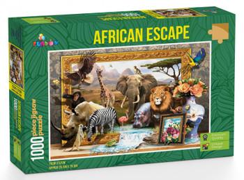 Funbox Puzzle African Escape Puzzle 1,000 pieces