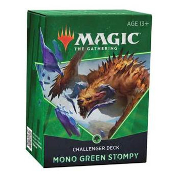 MTG 2021 Challenger Deck:  Mono Green Stompy