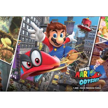 Super Mario Odyssey Snapshots Puzzle 1000pieces