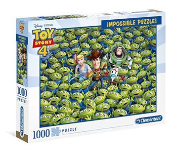 Clementoni Puzzle Disney Toy Story 4 Impossible Puzzle 1,000 pieces