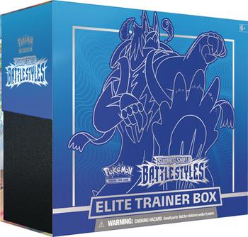 Pokemon Battle Styles Elite Trainer Box: Rapid Strike