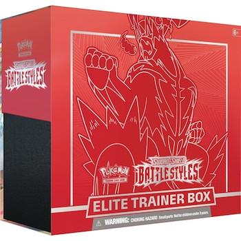 Pokemon Battle Styles Elite Trainer Box: Single Strike