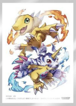 Digimon Card Game Official Sleeves (Agumon, Gabumon)