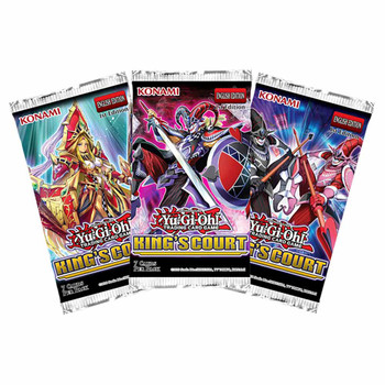 Yugioh: King's Court Booster Pack