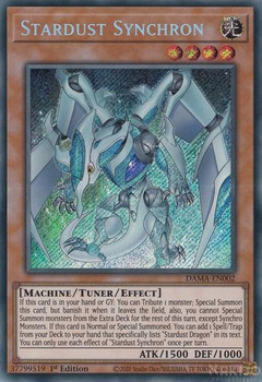DAMA-EN002 Stardust Synchron (Secret Rare)
