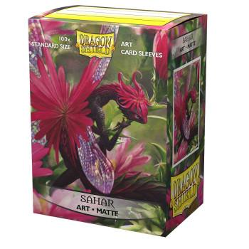 Sleeves - Dragon Shield - Box 100 - MATTE Art - Sahar
