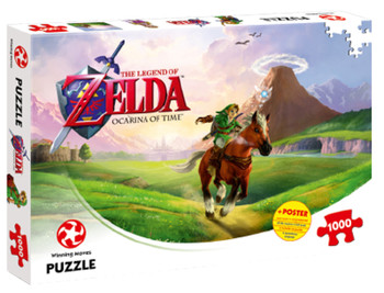 The Legend of Zelda Ocarina of Time Puzzle 1,000 pieces