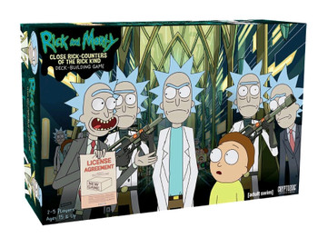 Rick and Morty - Close Encounters of the Rick Kind Deck Building Game