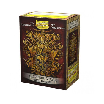 Sleeves - Dragon Shield - Box 100 - MATTE Art - Brushed Art General Vicar