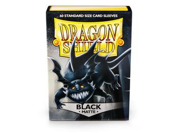 Sleeves - Dragon Shield - Box 60 - Matte Black