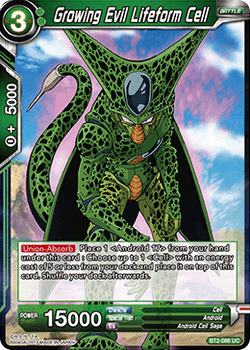 BT02-086UC Growing Evil Lifeform Cell
