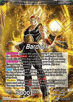 EX19-20EX Bardock // SS4 Bardock, Prismatic Striker Foil