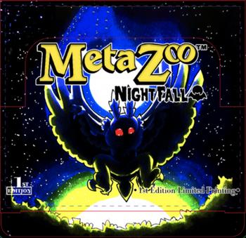 Metazoo Nightfall 1st Ed Booster Box Sealed Case (50% Deposit) (Earlybird Preorder)